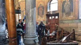 埃及亞力山卓教堂前爆炸 至少6死66傷 (圖取自國土報網頁www.haaretz.com)
