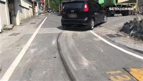 男子酒醉倒路邊 慘遭轎車拖行80公尺