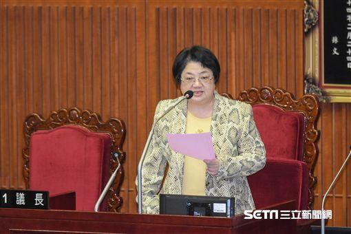 台北市議會,議長吳碧珠 圖/記者林敬旻攝