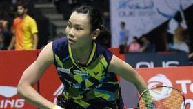 戴姿穎新加坡羽球超級系列賽晉級16強(圖/中央社)