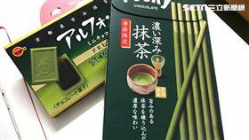 便利商店推出抹茶商品特惠。(圖/記者馮珮汶攝)
