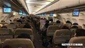 機艙,單走道客機,韓亞航空。(圖/記者簡佑庭攝)'