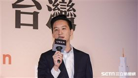 Uber台灣區總經理顧立楷 圖/記者林敬旻攝