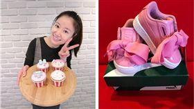 林心如,女兒,小天使,產後復出,賀禮,禮物,PUMA,球鞋,精品 圖/翻攝自臉書