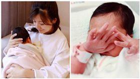 賈靜雯產後首度曝光 組圖/翻攝至賈靜雯臉書