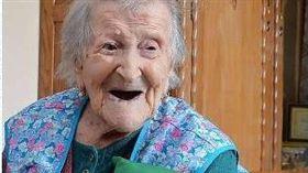 全球最年長人瑞及19世紀最後一位在世者、義大利阿嬤莫拉諾(Emma Morano)辭世 圖/翻攝自美國老人醫學研究組織