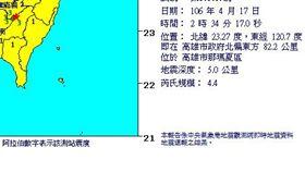 4.4高雄地震