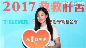 歌姬A-Lin擔任救肝大使,與爸媽一起救救肝苦人公益募款,讓愛永不分離。(記者邱榮吉/攝影)