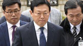 樂天集團會長辛東彬_美聯社/達志影像