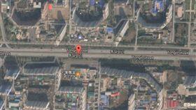 平壤大樓空拍_googlemap