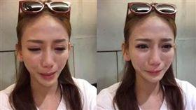 劉喬安直播痛哭/臉書