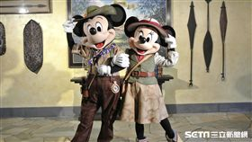 香港迪士尼、迪士尼探索家度假酒店、迪士尼樂園(圖/張家寧攝影)
