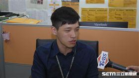 時代力量法案助理陳為廷 圖/記者林敬旻攝
