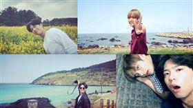 圖翻攝自朴寶劍影片 BTS V 金泰亨