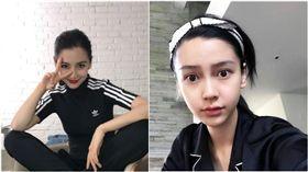 Angelababy,楊穎(合成圖/翻攝自Angelababy微博、臉書)