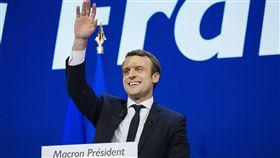 法國,選舉,中間派,馬克宏,Emmanuel Macron(圖/美聯社/達志影像)