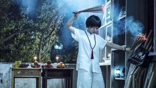 郭書瑤《通靈少女》拍攝鬼屋戲 圖/HBO ASIA提供