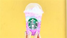 星巴克「獨角獸星冰樂」(Unicorn Frappuccino)(圖/翻攝自 annalayza IG)