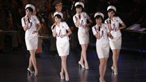 北韓女子天團「牡丹峰樂團」,北韓版少女時代_美聯社