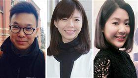 洪慈庸,林飛帆,徐巧芯 圖/翻攝自臉書