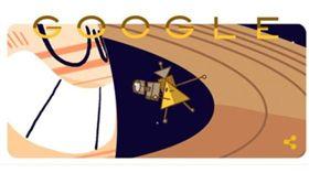 卡西尼壯烈衝入土星 Google塗鴉餞行 Google