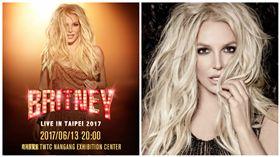 小甜甜布蘭妮,Britney Spears,演唱會,合成圖/IMEtw提供、小甜甜布蘭妮臉書