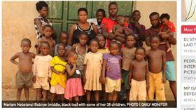 ▲烏干達女子37歲有38個孩子。(圖/翻攝自Nairobinews) http://nairobinews.nation.co.ke/news/woman-birth-38-children/