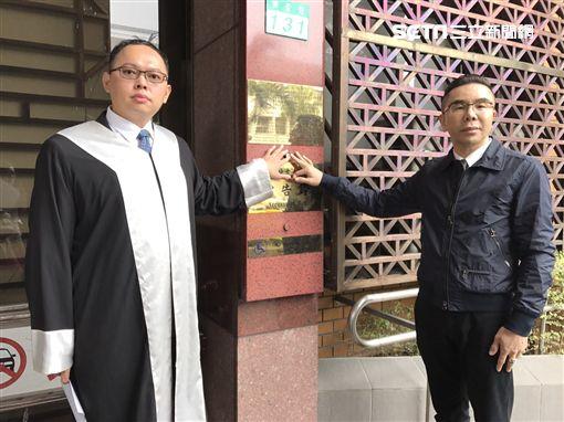 餐券糾紛,前「蓮香齋」負責人郭芳良,北檢告御蓮齋總經理吳松洋,涉嫌誹謗。潘千詩攝影