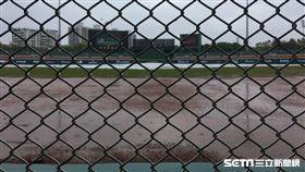 新莊棒球場下雨,悍將象延賽(圖/記者陳怡汝攝影)