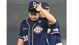 ▲斗山熊左投陳雅各。(資料照/截自韓國媒體)