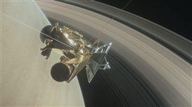 無人太空船「卡西尼號」 圖翻攝NASA臉書