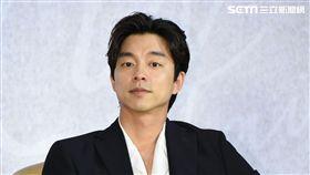 韓國男星孔劉訪台記者會