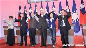 國民黨黨主席選舉電視政見發表會 圖/記者林敬旻攝