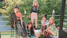 五人女團「DAYDAY」即將出道。(圖/翻攝自HYWY娛樂官方微博