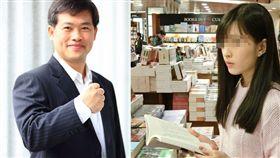 高雄市議員蕭永達、女作家/臉書