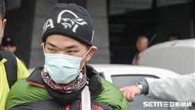 梁聖岳返台 圖/記者林敬旻攝