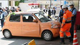 日本,九州,高齡駕駛,醫院,車禍(圖/翻攝自《朝日新聞》)