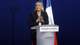 法國,總統候選人,雷朋,Marine Le Pen(圖/美聯社/達志影像)