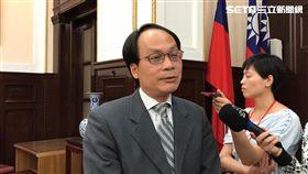 國是會議籌委會副執行秘書林峯正。潘千詩攝影