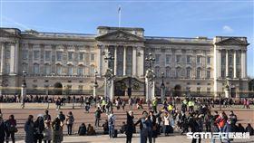 英國白金漢宮、女王、皇室、皇家(圖/記者周筠羚攝)