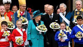 英國王室、英國女王伊麗莎白二世和其夫婿菲利普親王(Prince Philip)▲(圖/路透社/達志影像)