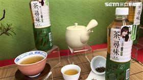 黑松全新無糖茶品牌。(圖/記者馮珮汶攝)