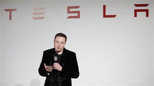 特斯拉執行長馬斯克Elon Musk(圖/美聯社/達志影像)
