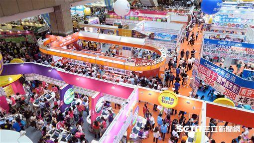 TTE台北國際觀光博覽會,旅展,夏季旅展。(圖/記者簡佑庭攝)