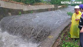 桃園,大雨,暴漲,溪水,工人,沖走
