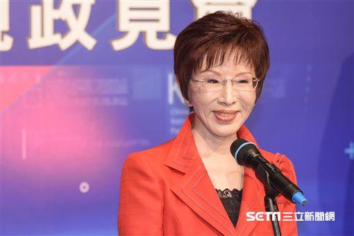 中國國民黨黨主席政見發表會,洪秀柱 圖/記者林敬旻攝
