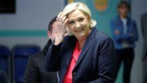 Marine Le Pen,雷朋,法國,總統,候選人,右派 圖/路透社/達志影像