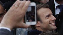 -Emmanuel Macron-馬克宏-法國總統-圖/美聯社/達志影像