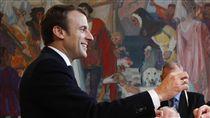 馬克宏,Emmanuel Macron,法國,大選(圖/美聯社/達志影像)
