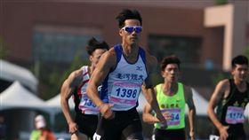 ▲楊俊瀚打破100公尺全國紀錄。(圖/台大新聞e論壇提供)